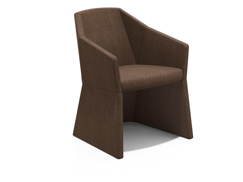 Fabric easy chair with armrests PARKER I | Fabric easy chair - Casala