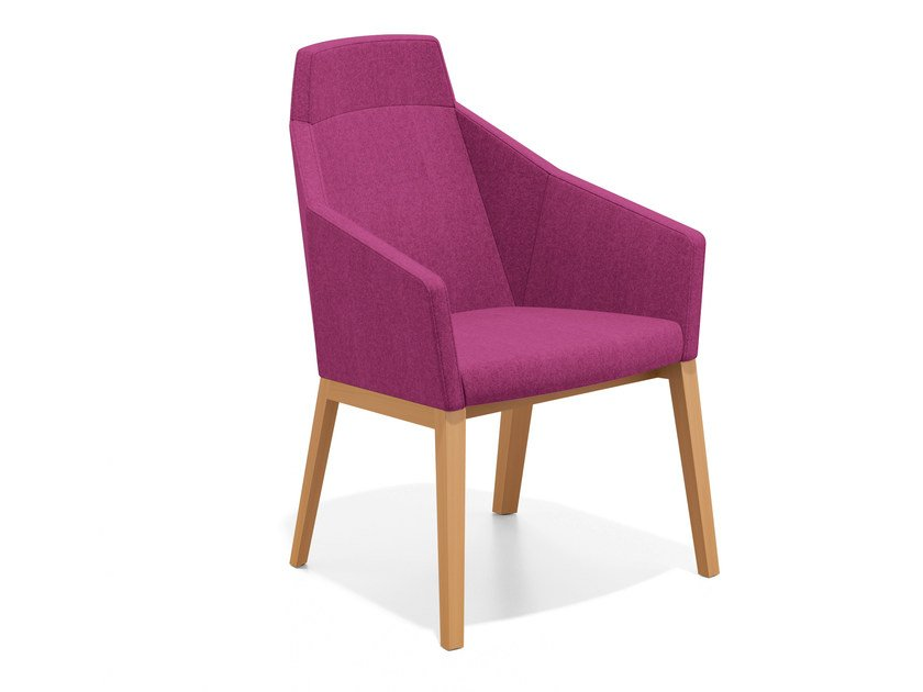 Fabric easy chair high-back PARKER II | Easy chair high-back - Casala