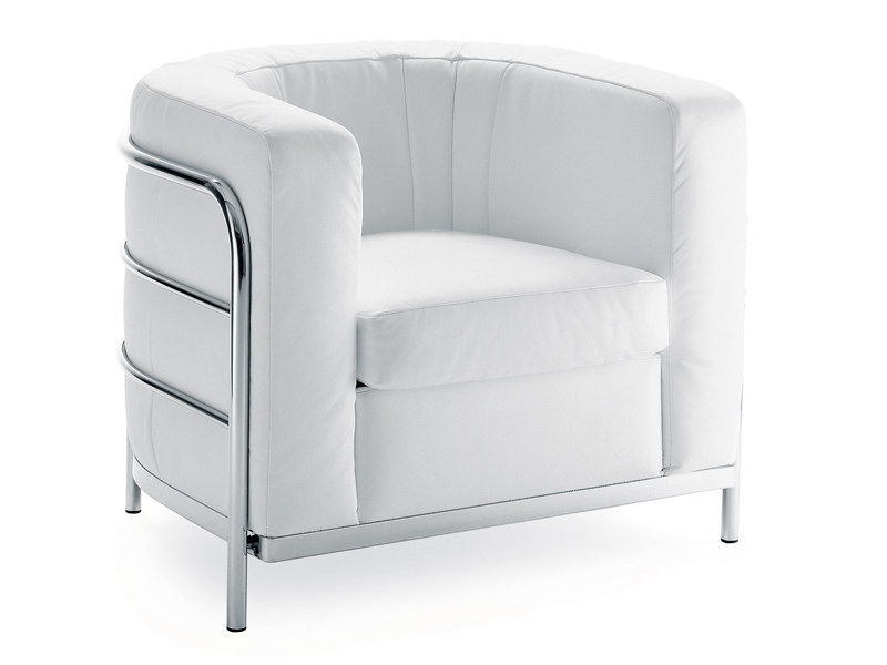 Upholstered armchair with removable cover ONDA | Armchair - Zanotta