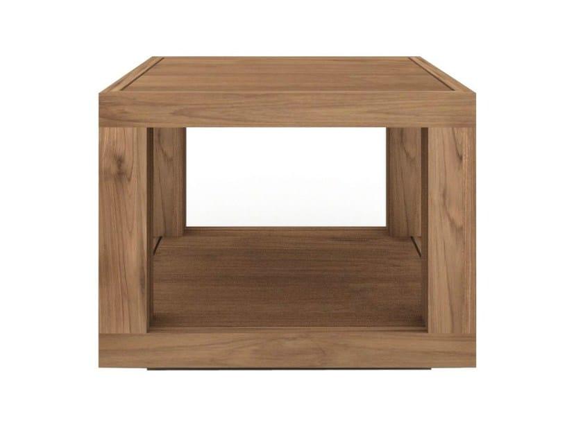 Square teak coffee table TEAK DUPLEX | Square coffee table - Ethnicraft