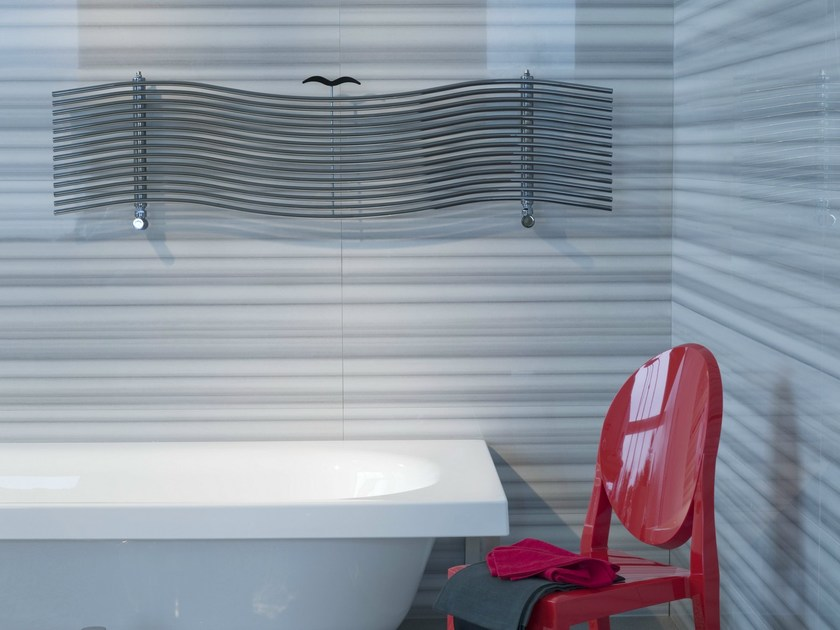 Horizontal carbon steel towel warmer ALBATROS - Tubes Radiatori