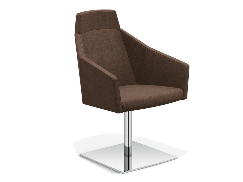 Swivel easy chair high-back PARKER V | Easy chair high-back - Casala