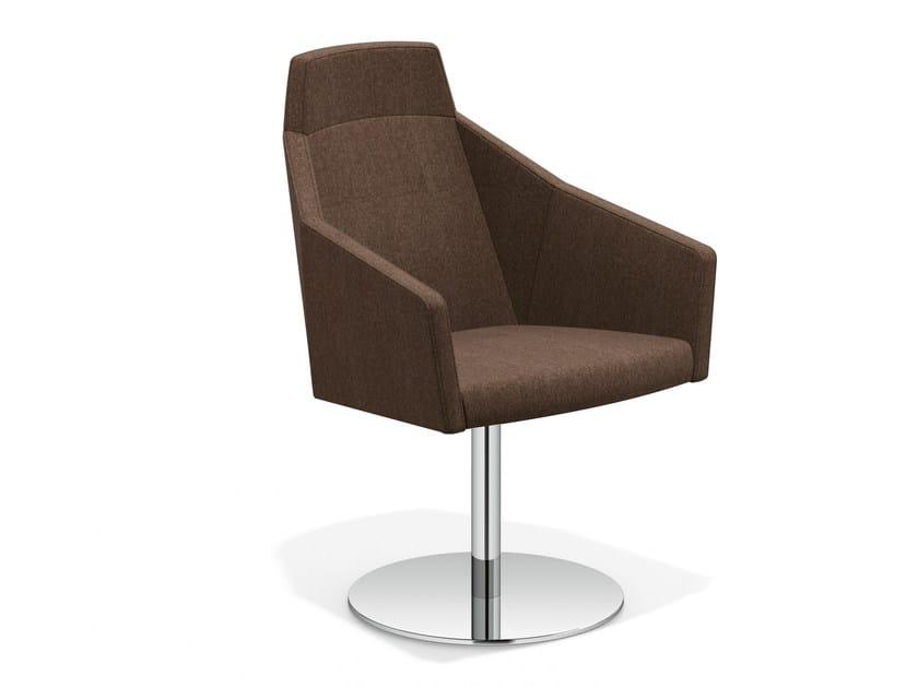 Swivel easy chair high-back PARKER V | Easy chair high-back by Casala