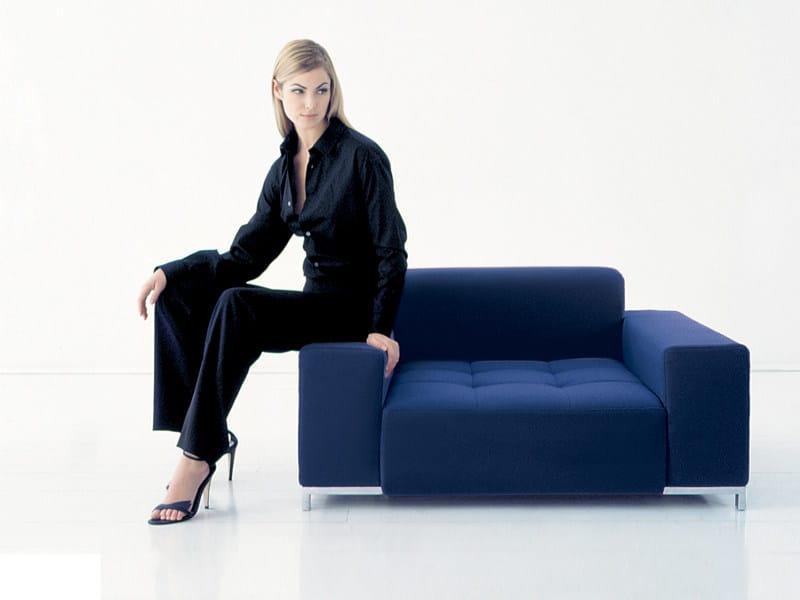 Upholstered armchair ALFA   Armchair - Zanotta