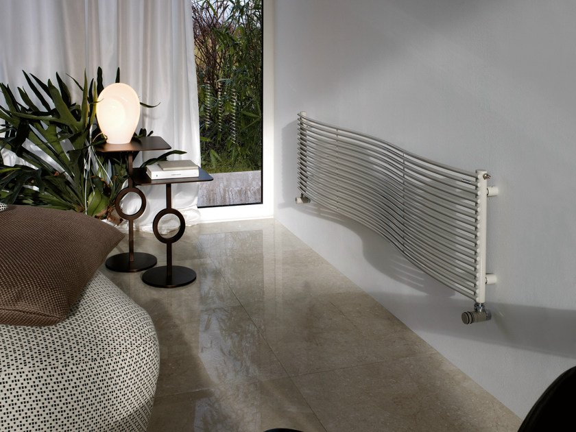 Hot-water horizontal steel decorative radiator JOBA | Horizontal decorative radiator - Tubes Radiatori