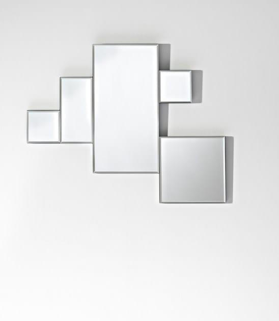 Contemporary style mirror PUZZLE | Contemporary style mirror - DEKNUDT MIRRORS