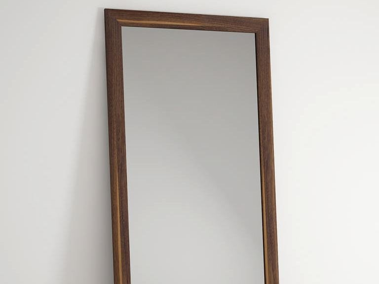 Countertop rectangular framed mirror VINTAGE | Freestanding mirror - KARPENTER