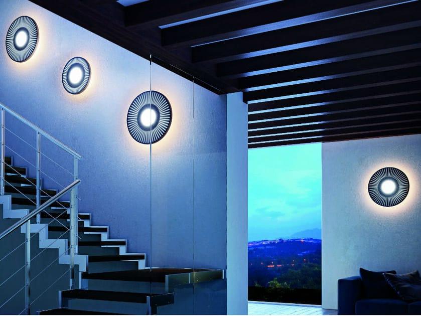 Wooden wall light ROSONA AP - Vetreria Vistosi