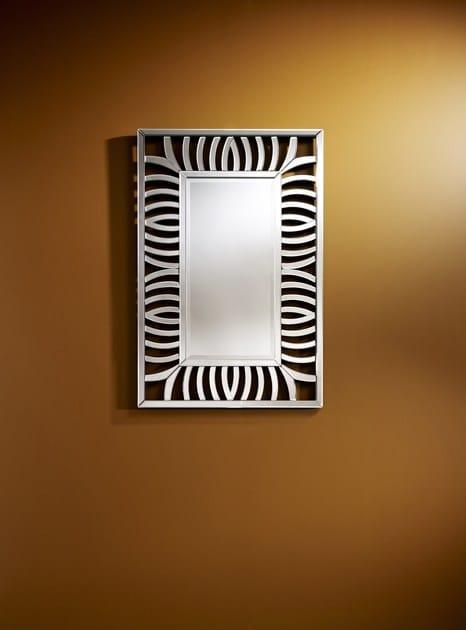 Contemporary style framed rectangular mirror VIGOR | Rectangular mirror - DEKNUDT MIRRORS