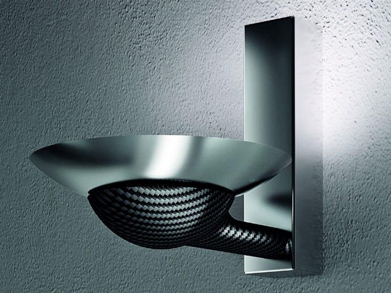 Carbon fibre wall lamp SMOOL AP - Vetreria Vistosi