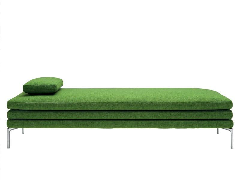 Fabric day bed WILLIAM | Day bed - Zanotta