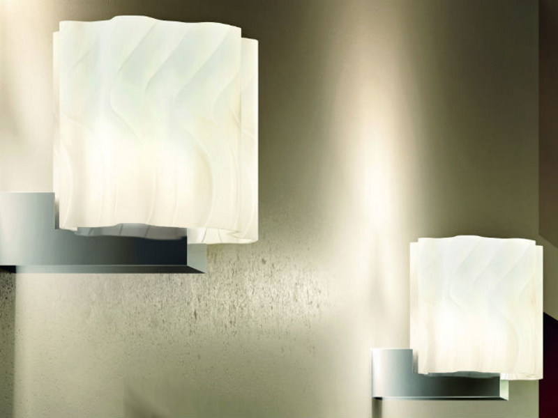 Borosilicate glass wall lamp VETRA AP - Vetreria Vistosi