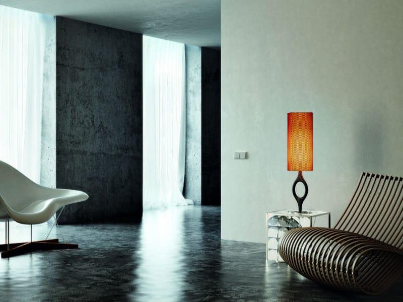 Carbon fibre table lamp ZERO LT - Vetreria Vistosi