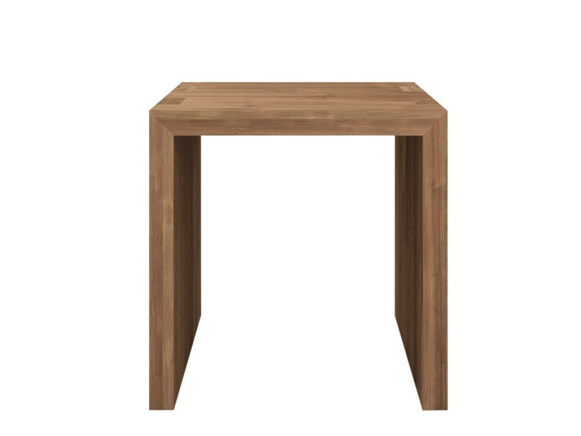 Square teak coffee table TEAK KUBUS | Square coffee table - Ethnicraft