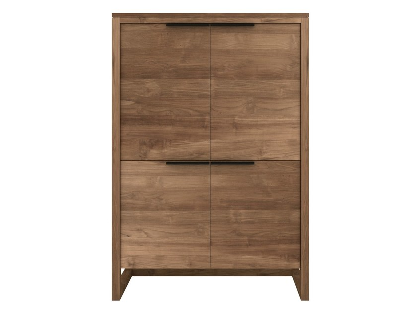 Teak highboard with doors TEAK LIGHT FRAME | Highboard by Ethnicraft