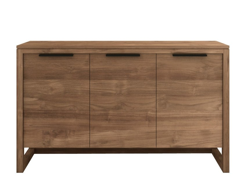 Teak sideboard with doors TEAK LIGHT FRAME | Sideboard - Ethnicraft