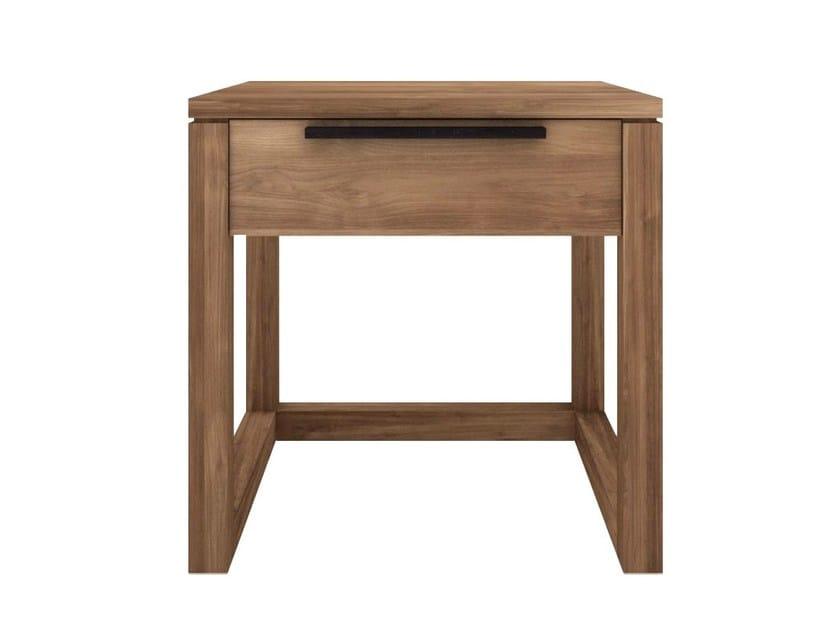 Teak bedside table with drawers TEAK LIGHT FRAME | Bedside table - Ethnicraft