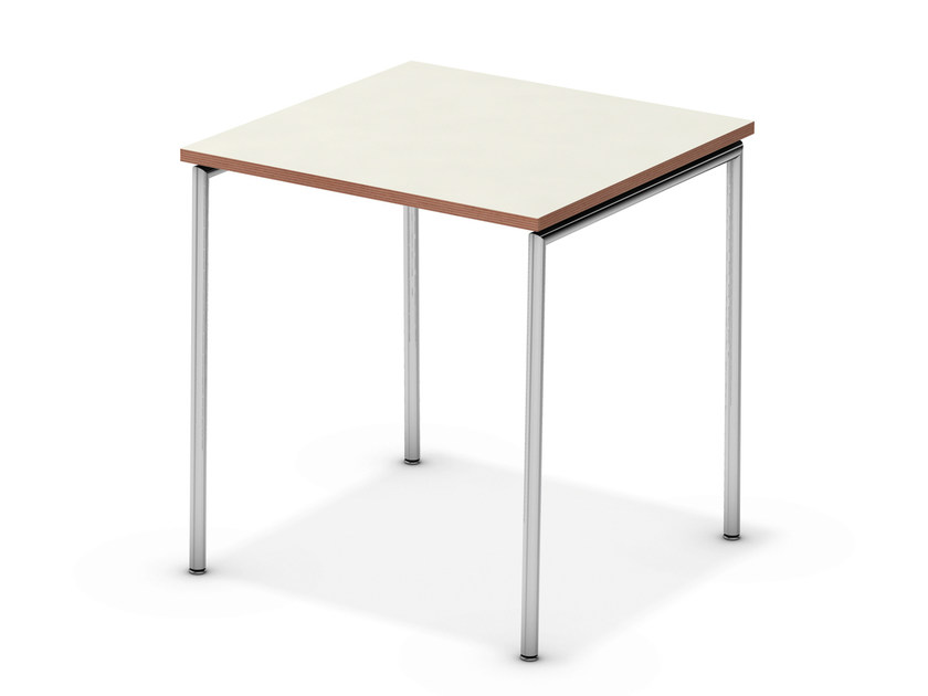 Lacquered square meeting table TAVO FIX | Square meeting table - Casala