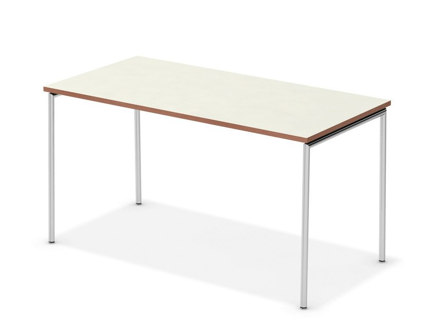 Lacquered rectangular meeting table TAVO FIX | Rectangular meeting table - Casala