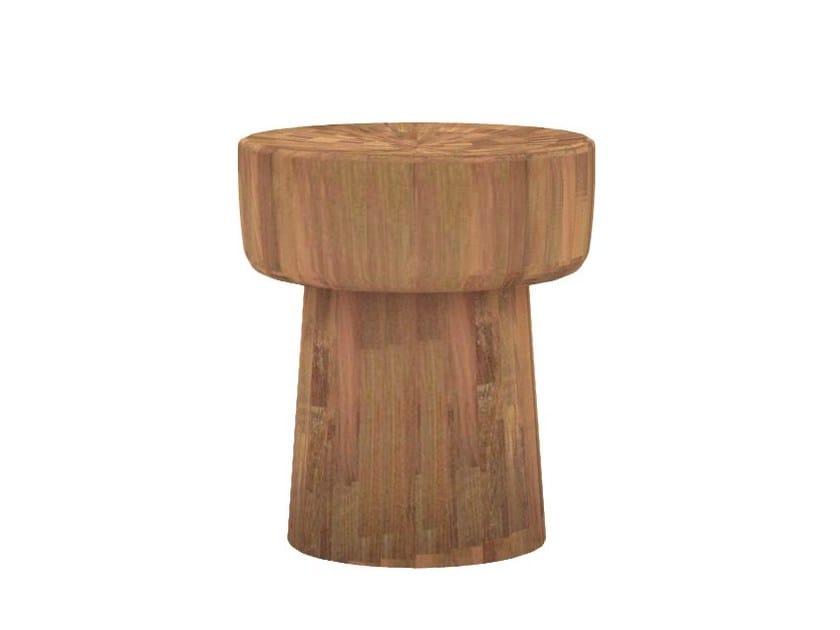 Teak stool / coffee table TEAK POP | Stool by Ethnicraft