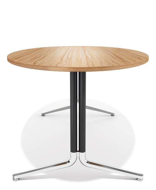 Oval wooden meeting table TEMO | Oval meeting table - Casala