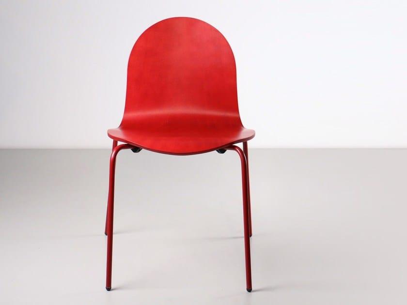 Stackable chair NORMA | Chair - Branca-Lisboa