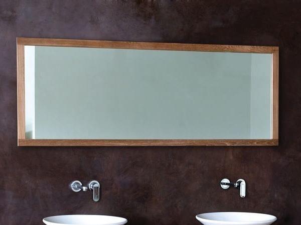 Miroir mural avec cadre pour salle de bain collection monk for Miroir mural salle de bain