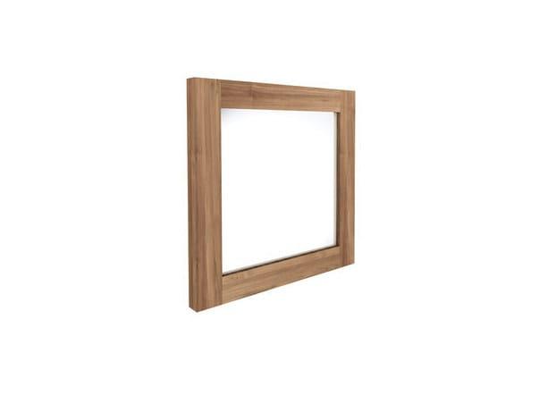 Wall-mounted framed mirror TEAK UTILITILES | Mirror - Ethnicraft