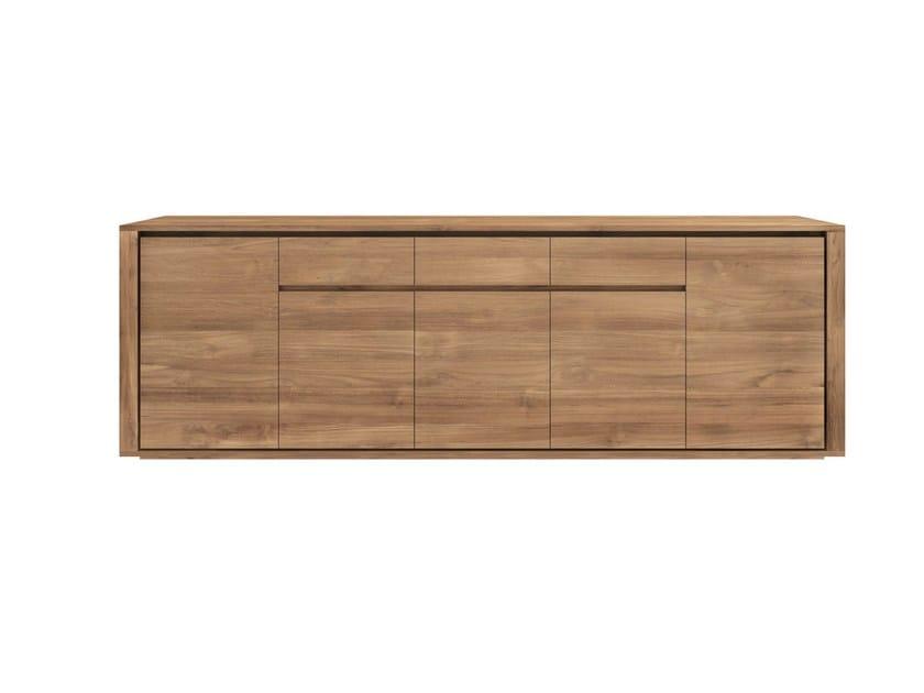Teak sideboard with doors TEAK ELEMENTAL   Sideboard - Ethnicraft