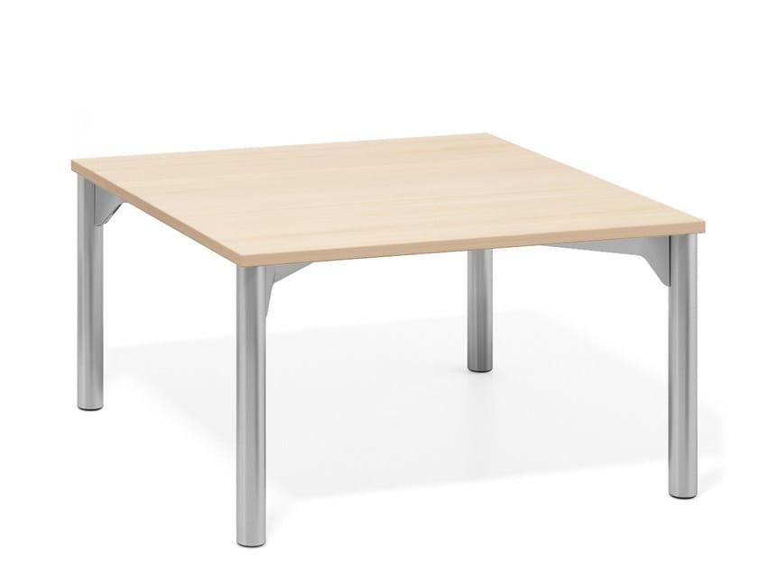 Modular meeting table WISHBONE LOUNGE | Meeting table by Casala