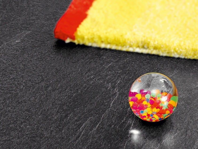 Laminate flooring with stone effect CHARCOAL SLATE - Pergo