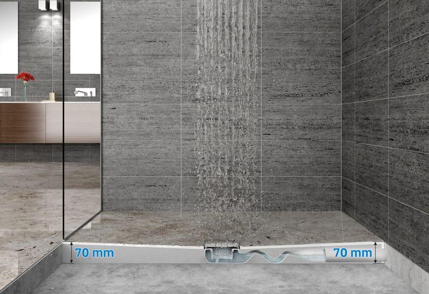 Shower channel X-CENTER70 - Valsir