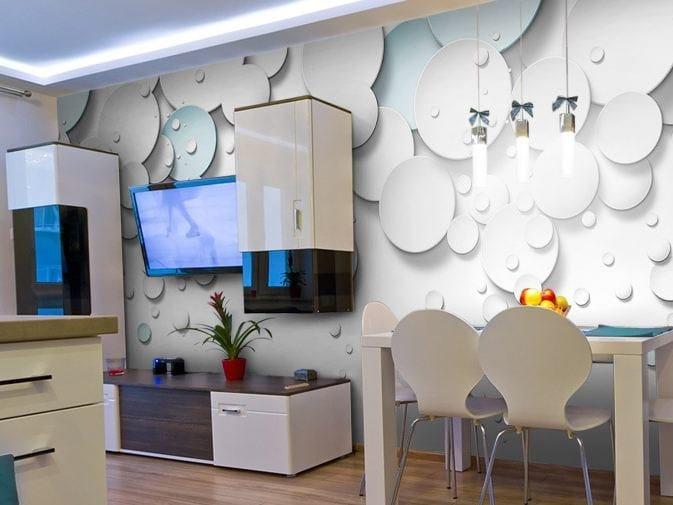 Washable vinyl wallpaper EXTRABALL by GLAMORA