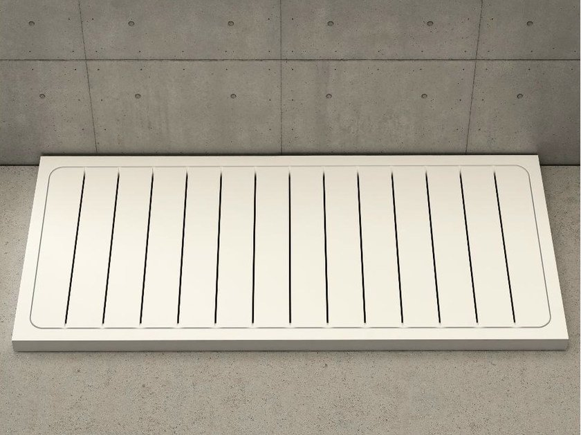 Rectangular shower tray LINEA - DIMASI BATHROOM by Archiplast