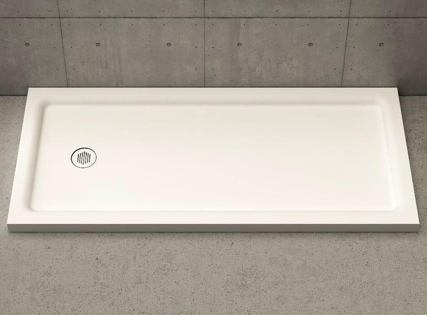 Rectangular shower tray PIANO - DIMASI BATHROOM by Archiplast