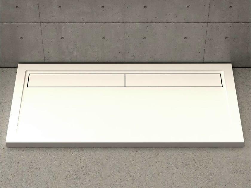 Rectangular shower tray UNIQUE - DIMASI BATHROOM by Archiplast
