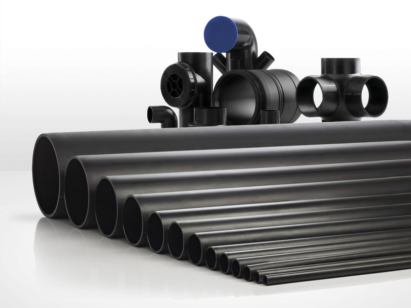 Polyethylene for waste and drainage systems HPDE - Valsir