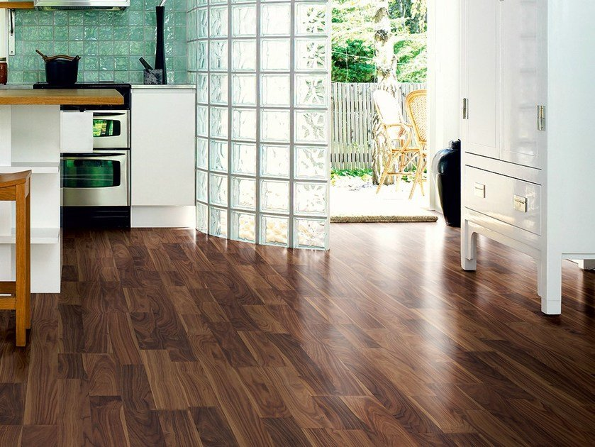 Laminate flooring ELEGANT WALNUT 2-STRIP - Pergo