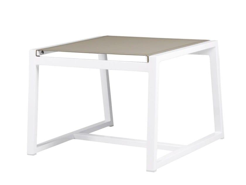 Aluminium footstool ALLUX | Footrest - MAMAGREEN