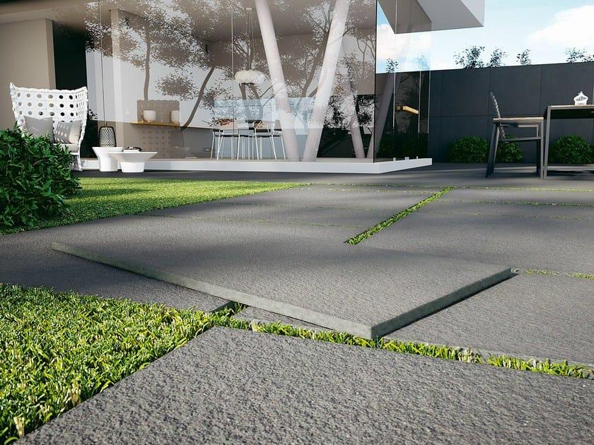 Porcelain stoneware outdoor floor tiles OUTDOOR 24 mm by DSG Ceramiche