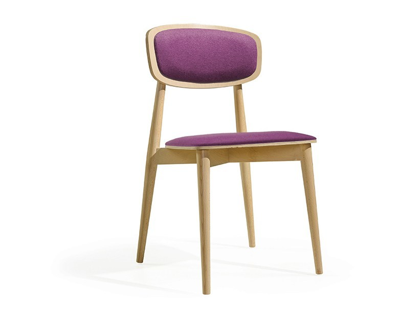 Wooden chair CRAFT EST - Fenabel - The heart of seating