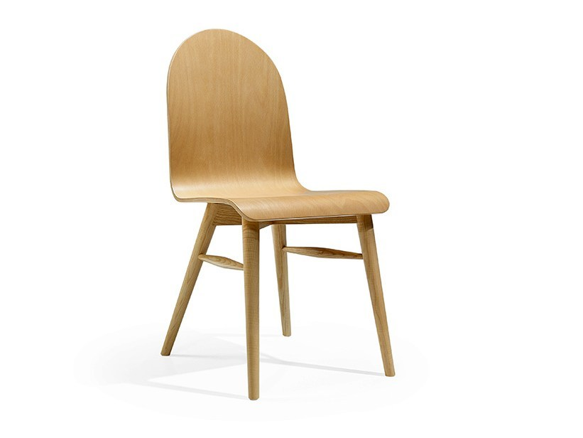 Wooden chair COFFE - Fenabel - The heart of seating