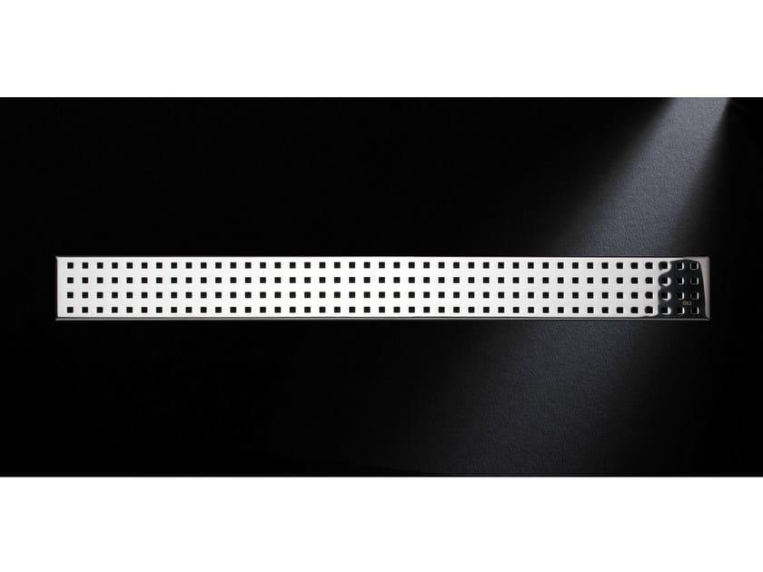 Glossy steel shower channel GRIGLIA QUADRO 770 | Glossy steel shower channel - OLI