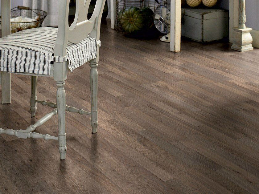 Laminate flooring LOUNGE OAK 3-STRIP - Pergo