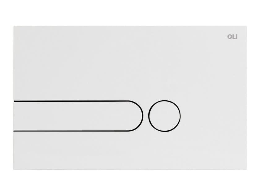 ABS flush plate iPLATE BIANCO - OLI