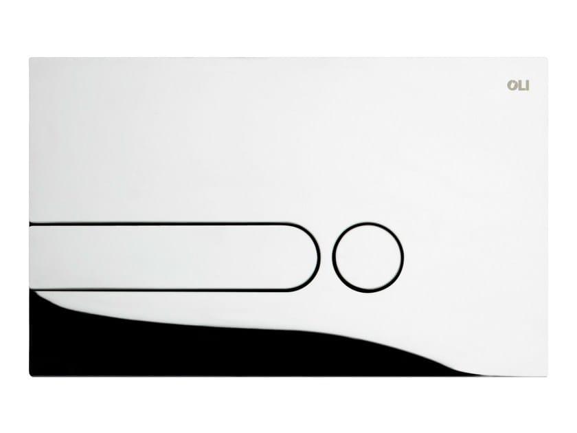 Glossy steel flush plate IPLATE | Glossy steel flush plate - OLI