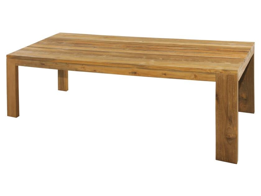 Rectangular teak dining table EDEN | Table - MAMAGREEN
