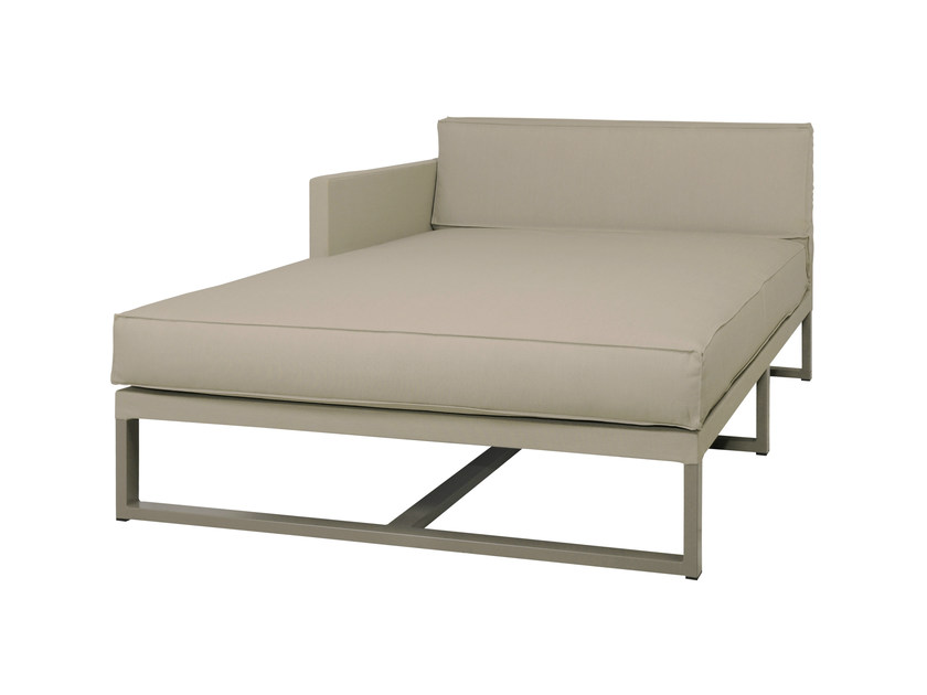 Upholstered fabric day bed MONO | Upholstered day bed - MAMAGREEN