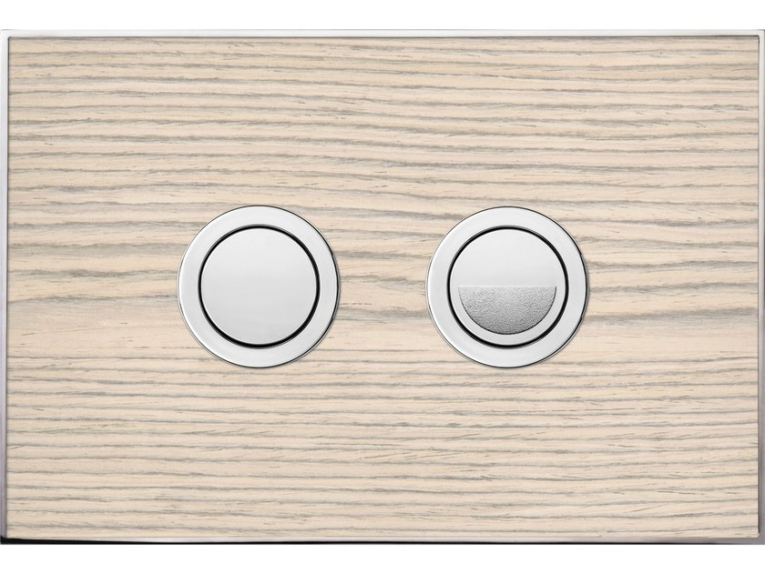 Flush plate WOOD BLANC OAK POLISHED - Valsir