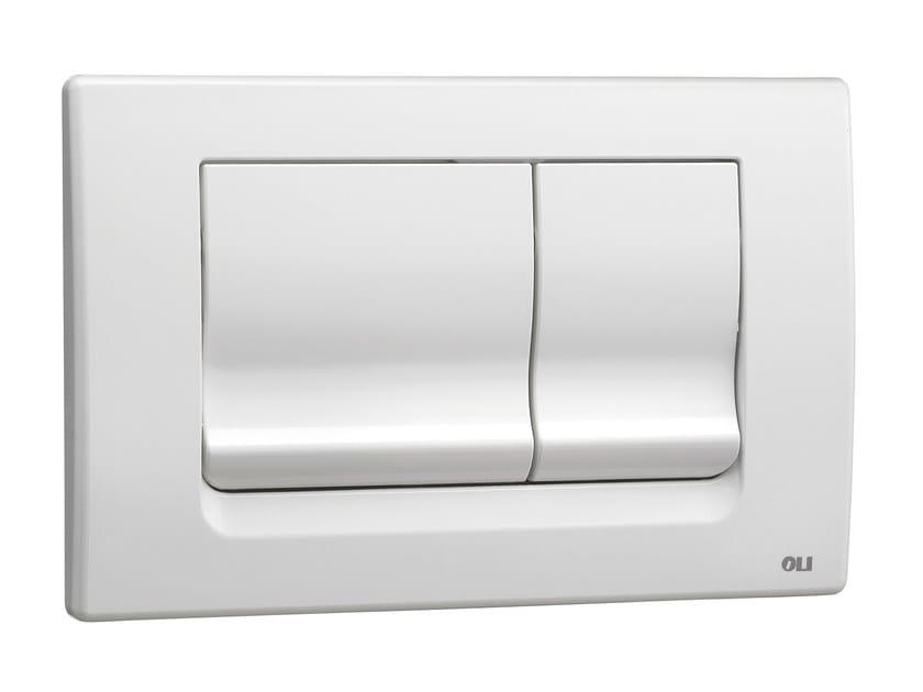 ABS flush plate RIA WHITE - OLI